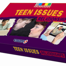 Teen Issues Relationships Discussion Cards 36pk  medium