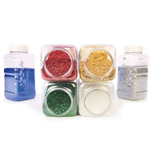 TTS Glitter Assorted 500g 6pk  medium
