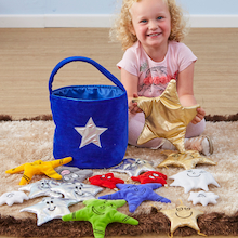 Alice Sharp Fabric Activity Stars  medium