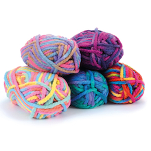 Super Chunky Knitting Yarn 5pk  medium