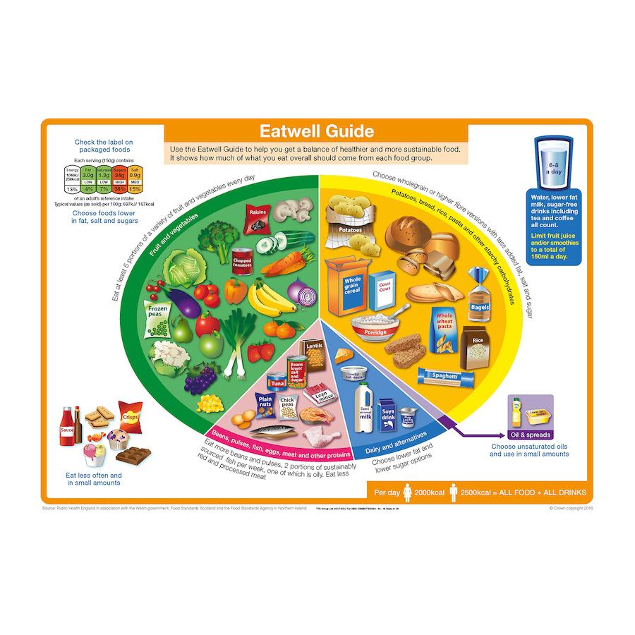 Buy The Eatwell Plate Floor Mat A1 Tts