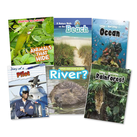 Non Fiction Guided Reading Books 42pk  large