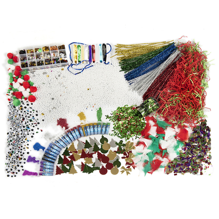 Assorted Christmas Collage Class Pack  large