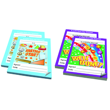 Maths Reward Notepads 4pk  medium