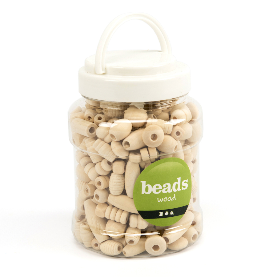 Wooden Craft Beads Free Delivery