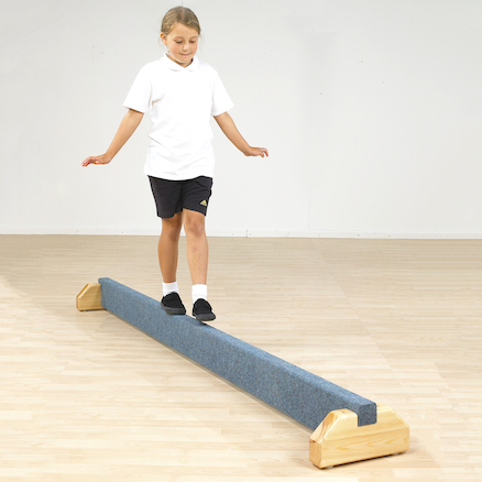 Gymnastics Low Floor Balance Bar L2.44m  large