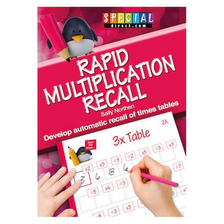 Rapid Recall Multiplication Times Table Workbook  large