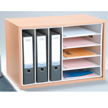 Multi File and Paper Desktop Organiser  large