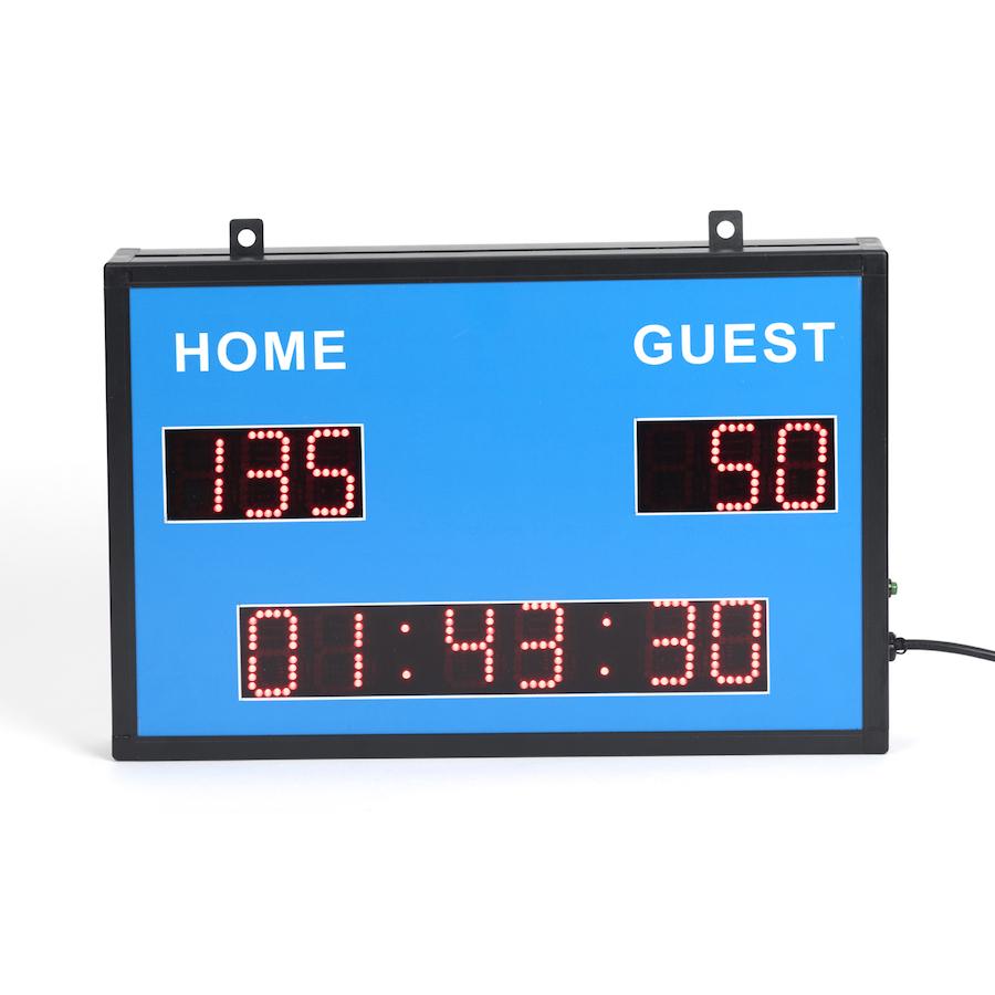 Buy Wall Mountable Sports Scoreboard Amp Clock Tts