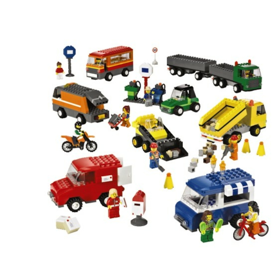 Build Your Own Vehicles Lego