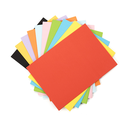 Assorted Coloured Paper 100gsm 250pk  large