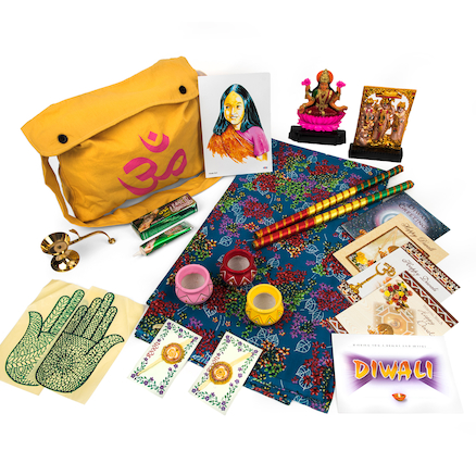 Hindu Childs Artefact Collection  large
