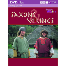Saxons and Vikings DVD and Activity Pack  medium