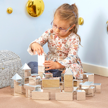Metallic Mini Construction Blocks 32pcs  medium