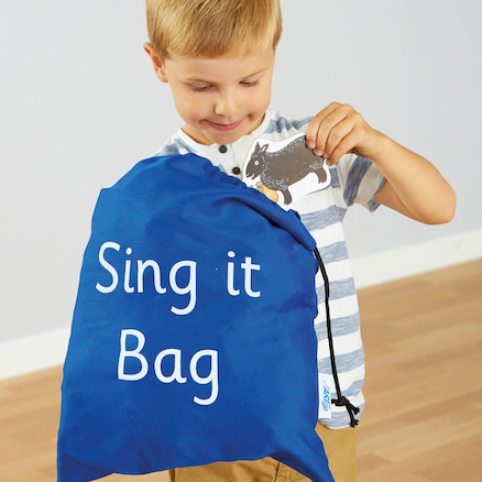 Sing It Bag Song and Rhyme Activity Set 44pcs  large