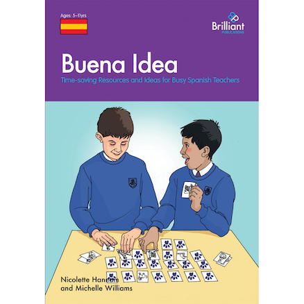 Buena Idea Spanish Photocopiable Activities Book  large