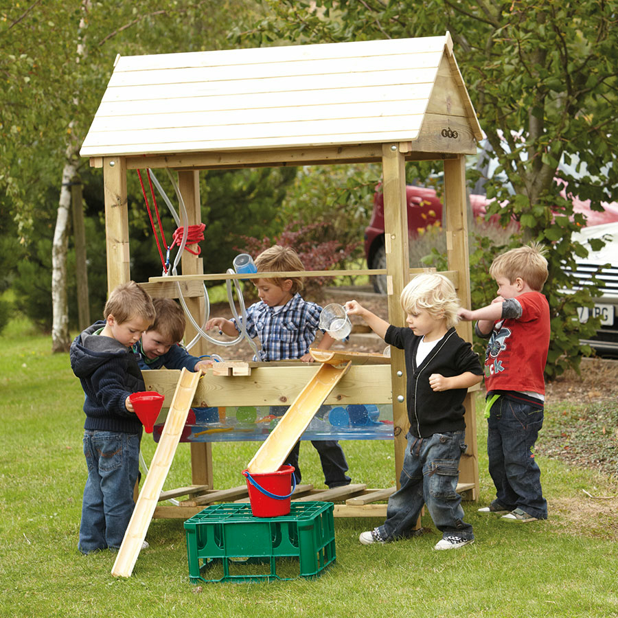 Buy Super Outdoor Wooden Sand And Water Unit Tts
