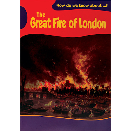 The Great Fire Of London Story Book  large