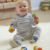 Tub of Wooden Baby Grasping Toys 7pcs  small