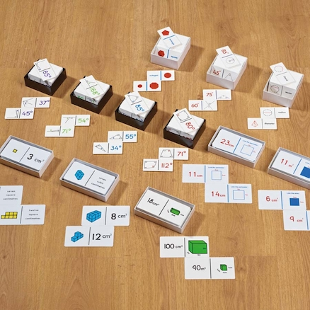 KS2 Shapes and Measures Games Set  large