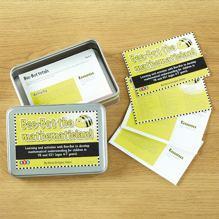 Bee-Bot 100 Maths Ideas Cards  large