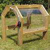 Outdoor Wooden Cascading Water Tunnel  small