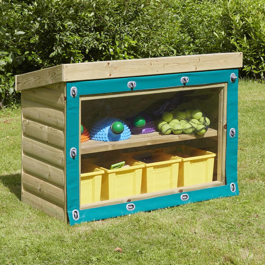 Buy Outdoor Wooden Storage Units Tts