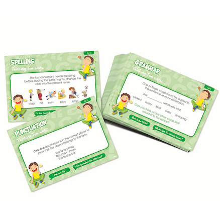 Can You Convince Me? SPaG Activity Cards- Group Set   large