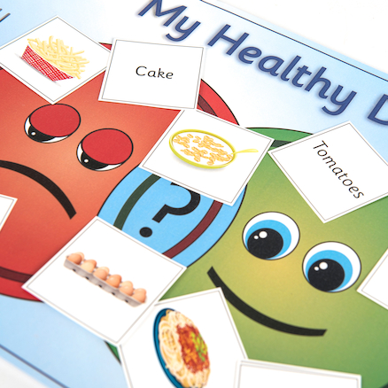 Planning a Healthy Diet Poster and Card Game  large