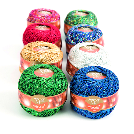 Metallic Decorative & Embroidery Threads 8pk  large