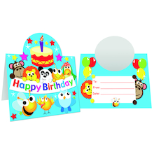 Birthday Stand Up Certificates 40pk  medium