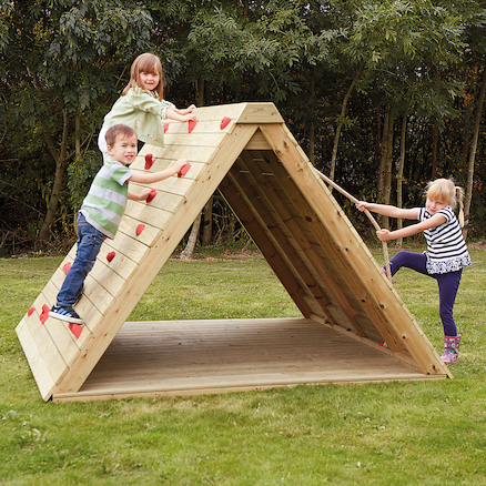 Wooden Climbing Prism with Standard Delivery  large