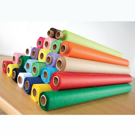 Assorted Non Bleed Tissue Paper Rolls 24pk  large