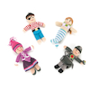 Crocheted Fairytale Characters 4pcs  small