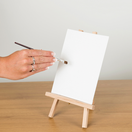 Mini Canvas and Easels Set 12pk  large