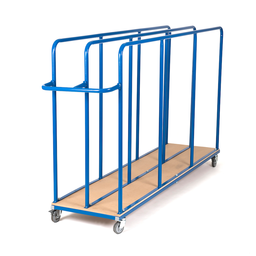 vertical gym mat trolleys