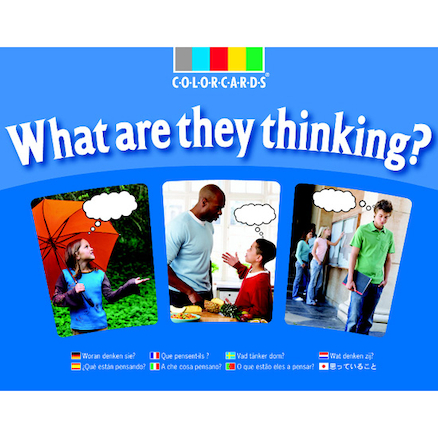 What Are They Thinking Photo Activity Cards 30pk  large