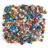 Exotic Design Plastic Bead Collection 112g  small