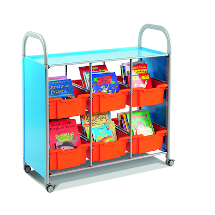 Callero Metal Mobile Book Library  large