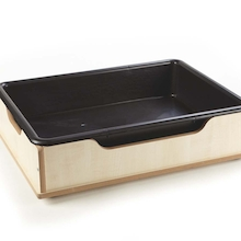 Toddler Wooden Sand and Water Tub  medium