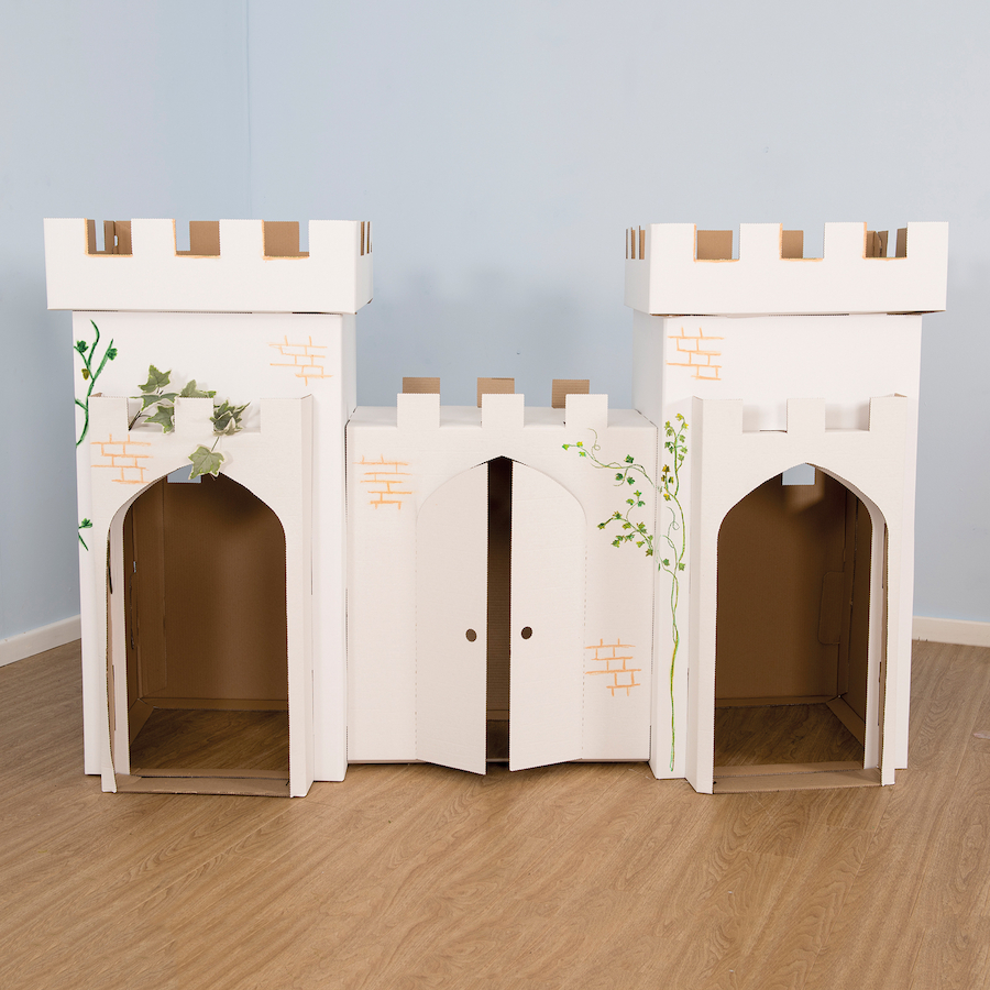 Buy Kid Eco Cardboard Castle Tts
