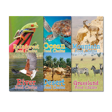 Food Chains and Webs Books   medium