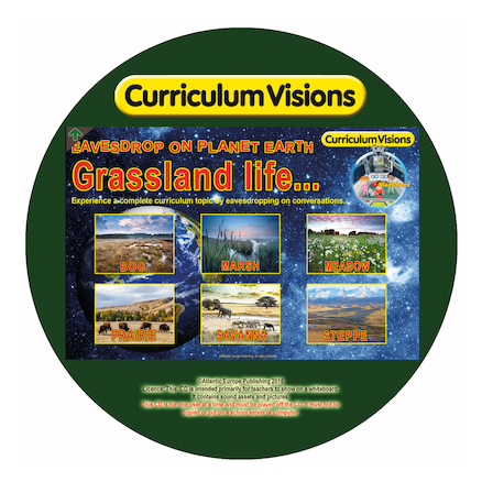 Curriculum Visions Biomes Interactive CD ROMs  large
