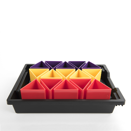 Handi Tray And Removable Pots Classroom Tidy  large