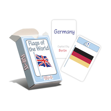 Flip-It Flags of the World Geography Cards  medium