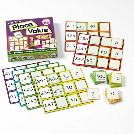 Place Value Maths Bingo Game  large