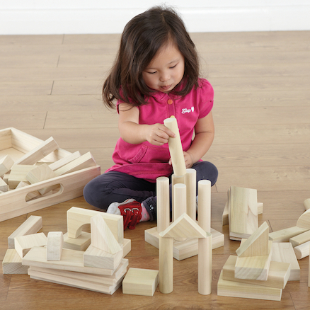 Wooden Jumbo Blocks  large