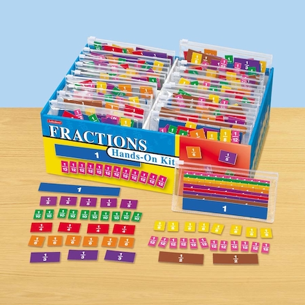 Fractions Hands On Kit  large