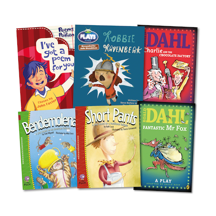 Years 1 to 6 Spoken Language Books 6pk  large