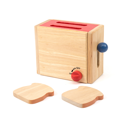 Wooden Role Play Toaster  large